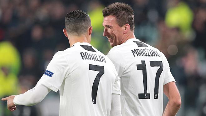 Juventus: Xin lỗi Ronaldo, nhưng Mandzukic nổi bật hơn!
