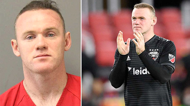 Wayne Rooney bị cảnh sát Mỹ bắt giữ: Hễ say là quậy