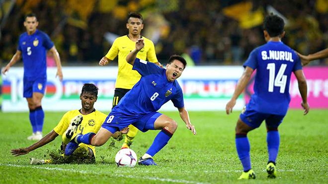 Thái Lan vs Malaysia: Tử chiến ở Rajamangala. VTV6. VTC3. Trực tiếp bóng đá