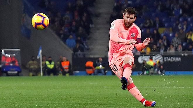 Leo Messi: Nghệ nhân đá phạt trực tiếp