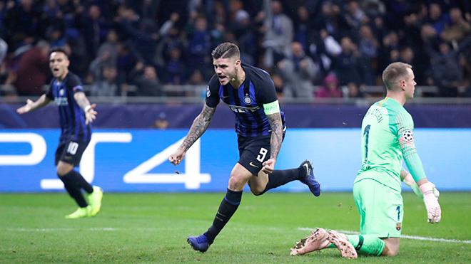 Inter: Icardi sút tung lưới Barca, khẳng định Argentina không chỉ có Messi là sát thủ