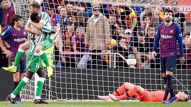 Barca đang như một tấm chăn hẹp