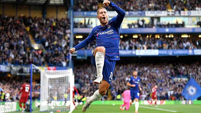Hazard đang làm mới mình dưới thời Sarri ở Chelsea