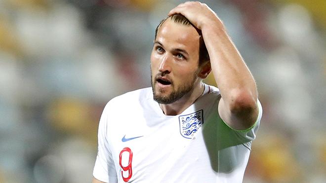 Kane đang là vấn đề của tuyển Anh!