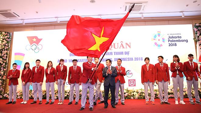 Đoàn Thể thao Việt Nam xuất quân dự ASIAD: Thông điệp quyết tâm!