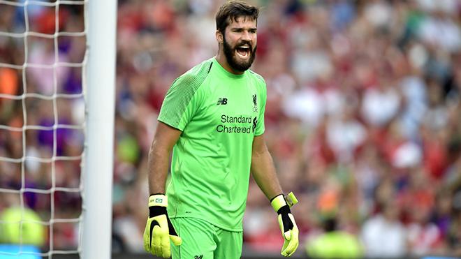 Alisson là những gì Liverpool cần mùa này