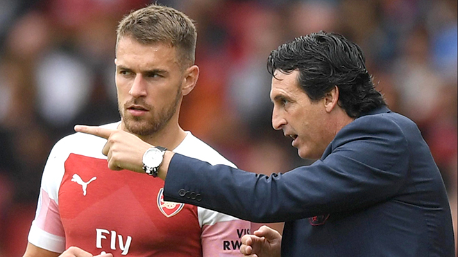 Emery thích Ramsey nhưng anh không phải Oezil
