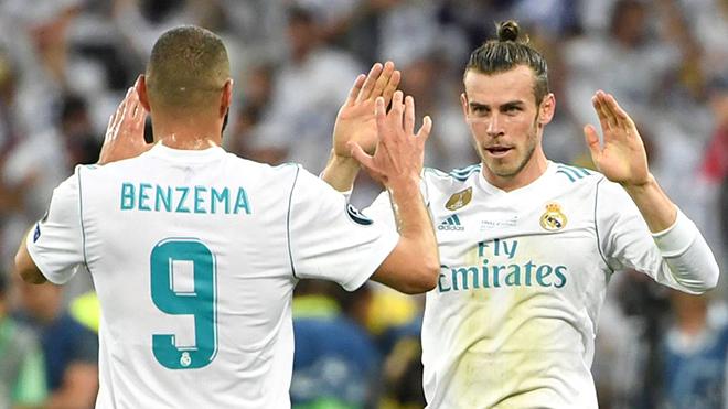 Bộ đôi Benzema – Bale gửi nắng ấm cho Ronaldo