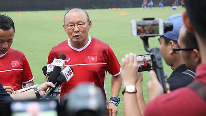 HLV Park Hang Seo: 'Việt Nam mất sức nhưng sẽ nỗ lực tối đa để chiến thắng'