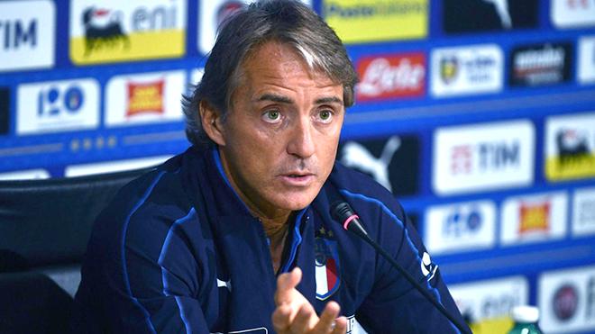"""Đội tuyển Italy: Roberto Mancini chờ đợi vào """"dòng máu trẻ"""""""