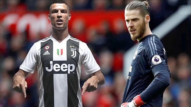 Cơn khát Ronaldo và nỗi buồn De Gea