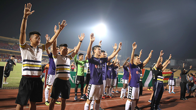 Những cột mốc đáng nhớ của Hà Nội FC
