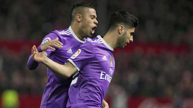 Real Madrid và cuộc chiến Mariano - Marco Asensio