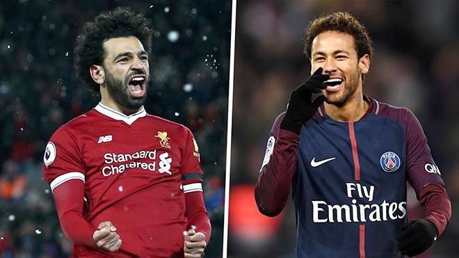 Vị thế của Salah và Neymar sẽ được quyết định bởi Champions League