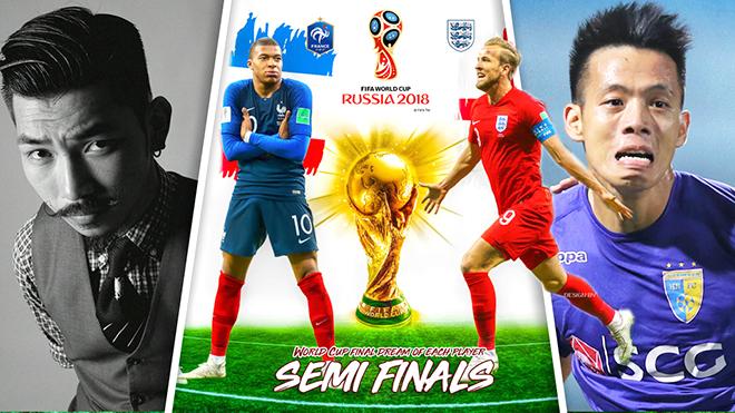 Bàn tròn World Cup: Đại chiến 2 bên bờ eo biển Manche