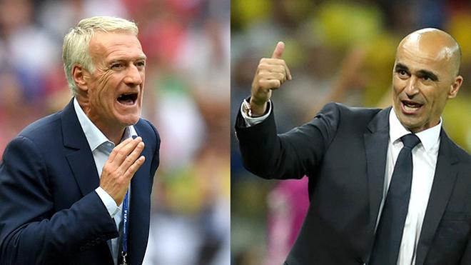 Pháp vs Bỉ: Khi thực dụng Deschamps đối đầu lãng mạn Martinez