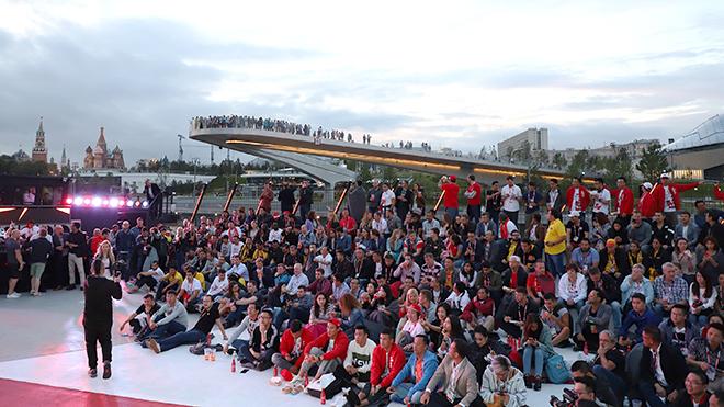 Xem World Cup trên những chiếc du thuyền tại Nga