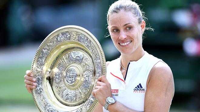 Angelique Kerber vô địch Wimbledon: Xoa dịu nỗi buồn Die Mannschaft