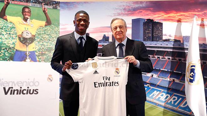 Chuyển nhượng Real Madrid: Cuộc phiêu lưu của Vinicius Jr.
