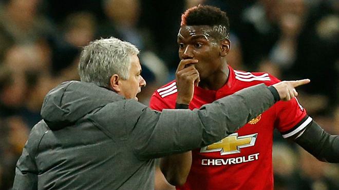 Mourinho và Pogba 'đánh nhau', chỉ M.U là thua