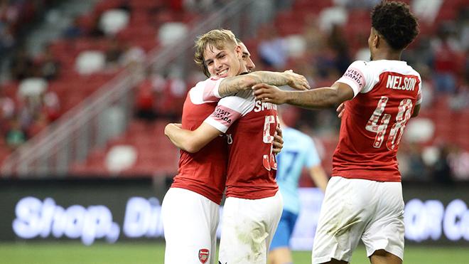 Không còn Wenger, Arsenal lại đá giao hữu cực hay