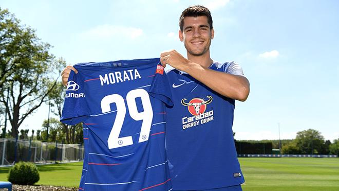Chelsea: Alvaro Morata đổi số áo, nhưng vẫn chưa đổi vận