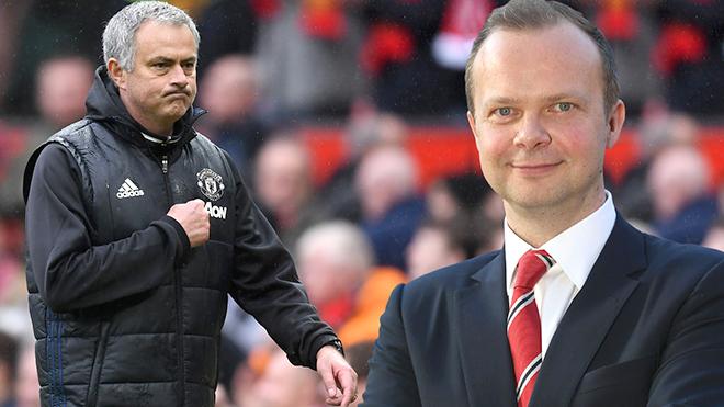 Ở M.U, không phải Mourinho, Ed Woodward mới là Người đặc biệt