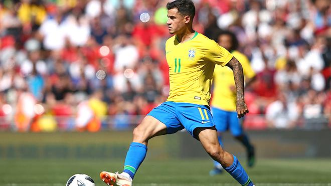 Serbia vs Brazil: Coutinho cũng có thể sắm vai chính như Neymar. Trực tiếp VTV6 (01h, 28/6)