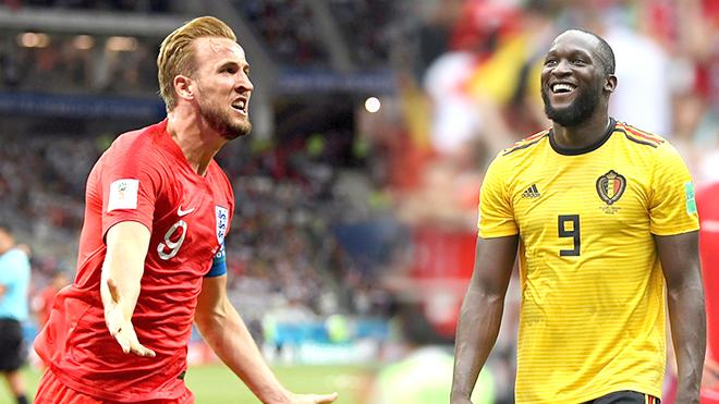 Anh vs Bỉ: Muốn đi xa, xin Kane và Lukaku đừng ghi bàn! Trực tiếp VTV6 (01h, 28/6)