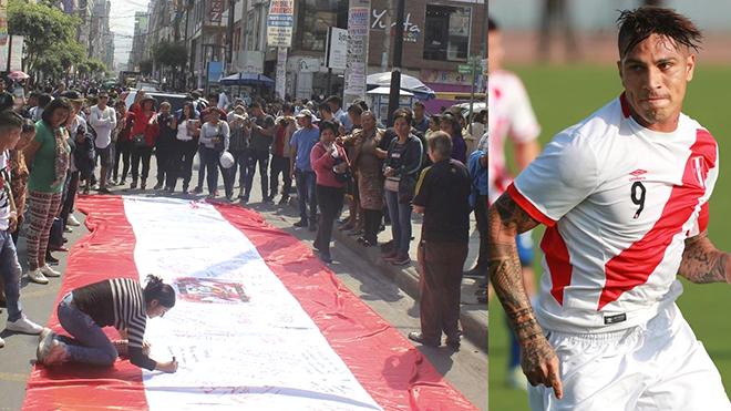 Cả nước Peru và FIFPro nỗ lực 'giải cứu' Guerrero, đưa anh tới World Cup
