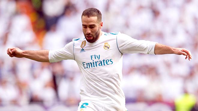 Dani Carvajal là động cơ chiến thắng của Real