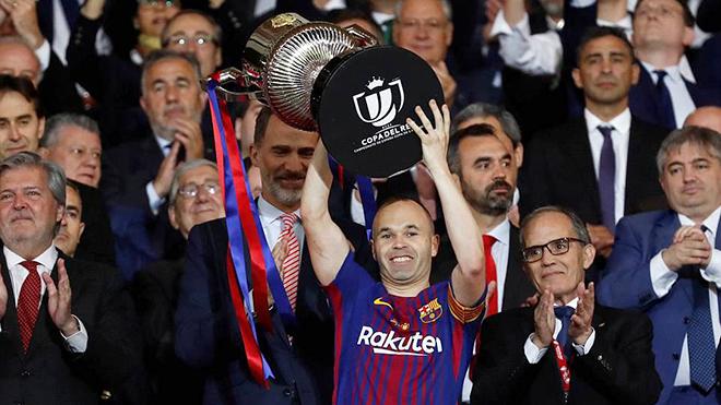 Barcelona giành Cúp nhà Vua: Bản hùng ca mang tên Iniesta