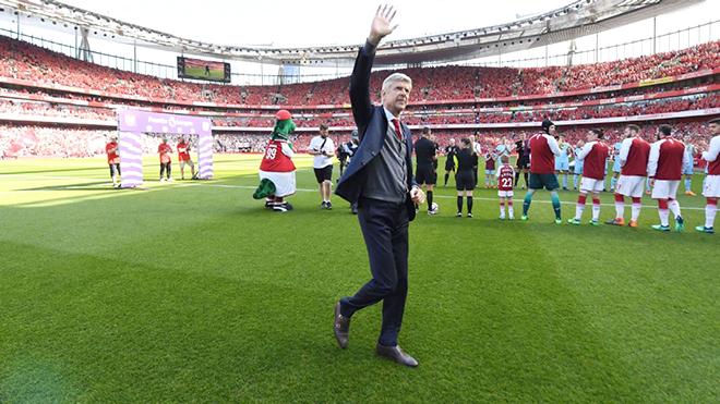 Ngày cuối cùng của ông Arsene Wenger ở Emirates