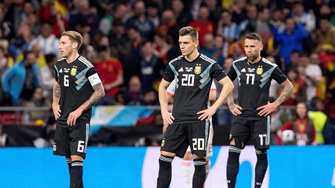 Argentina đã 'tỉnh mộng' ở Tây Ban Nha