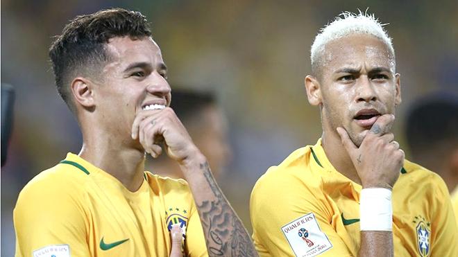 Với Alves, Coutinho hay không kém gì Neymar