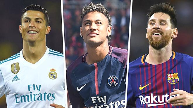 Vì sao Neymar không thể sánh ngang Messi và Ronaldo?