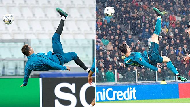 Từ kiệt tác 'Xe đạp chổng ngược': Ronaldo luôn khao khát sự hoàn hảo