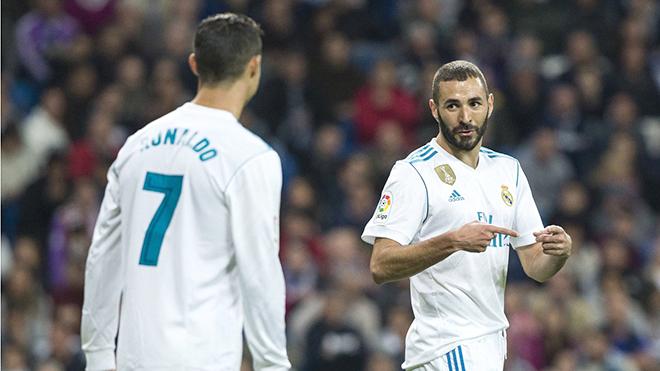 Benzema hy sinh vô điều kiện vì Ronaldo