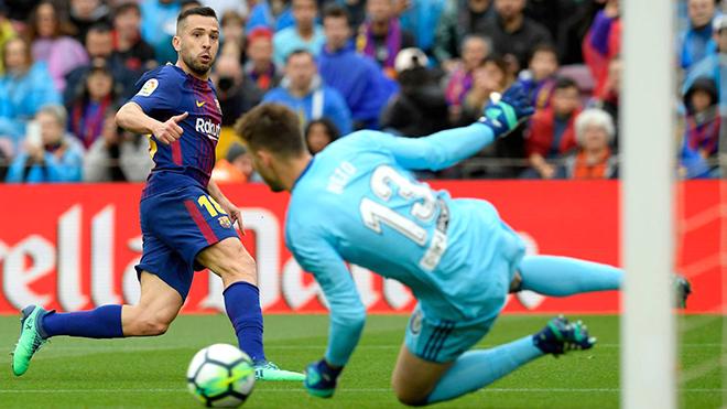 Jordi Alba vẫn là ngòi nổ đáng sợ của Barca