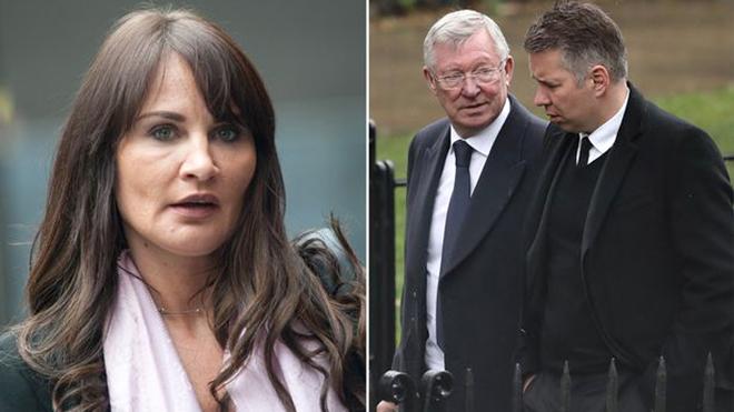 Sir Alex Ferguson và nỗi lo từ cô con dâu tai tiếng