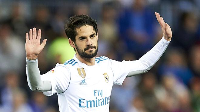Chuyện Real Madrid: Isco vẫn chờ đợi sân khấu lớn của riêng anh