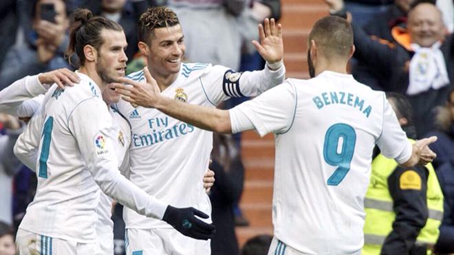 Sức mạnh của Real Madrid: Ơn giời, cuối cùng 'BBC' đã nổ súng
