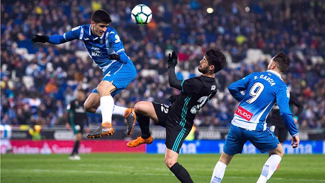 Real Madrid thua Espanyol... nằm trong dự tính của Zidane