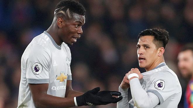 M.U: Bài toán kết hợp Pogba với Sanchez khiến Mourinho cực kỳ đau đầu