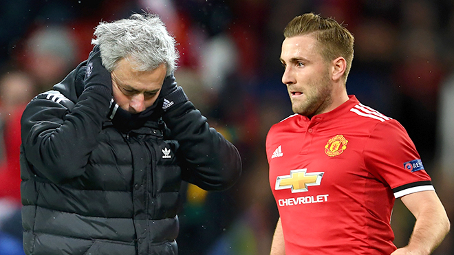 Mâu thuẫn Mourinho - Luke Shaw ở M.U: Giọt nước sắp tràn ly