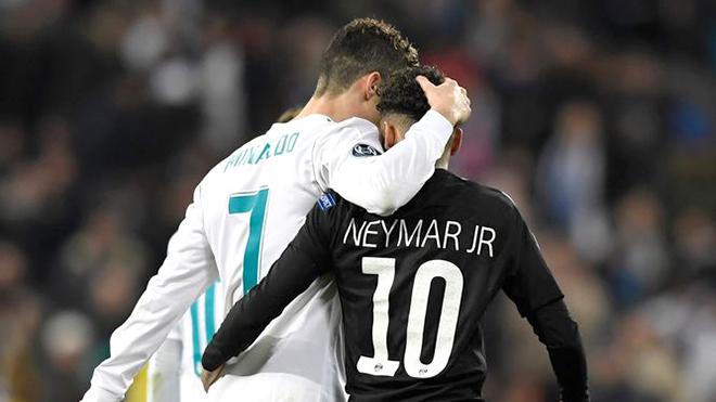 Ronaldo có chấp nhận là đồng đội của Neymar?