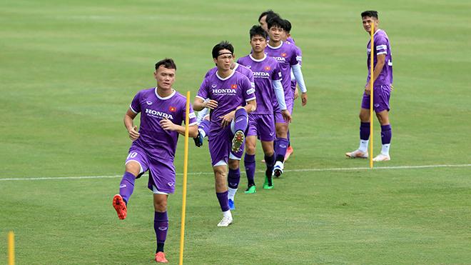Đội tuyển Việt Nam rèn thể lực