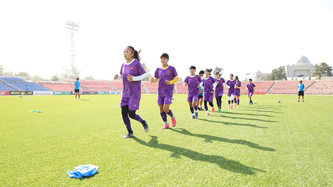 Đội tuyển nữ Việt Nam và mục tiêu nhất bảng vòng loại giải vô địch châu Á