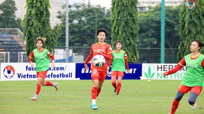Tuyển nữ sẵn sàng cho vòng loại giải vô địch châu Á 2022