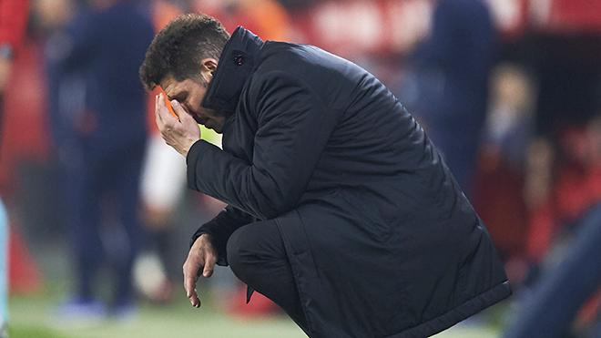 Atletico và sự bất lực của Simeone